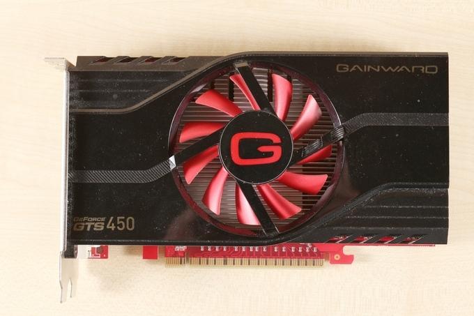 GTS450 card