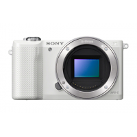 Full Spectrum Converted Sony A5000 Mirrorless Digital Camera White