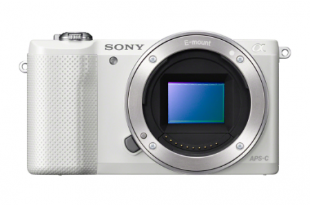 Full Spectrum Converted Sony A5000 Mirrorless Digital Camera White