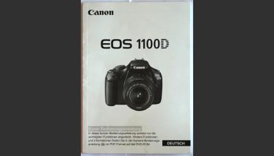 Canon 1100D User Manual in German Original