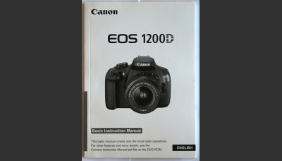 Canon EOS 1200D Basic Instruction User Manual