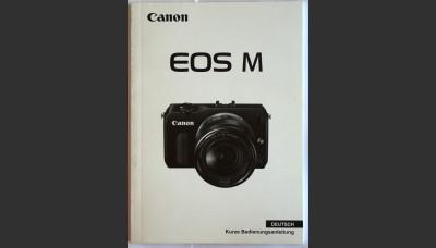 Canon EOS M User Manual in German Original