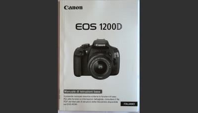 Canon 1200D User's Manual in Italian Original