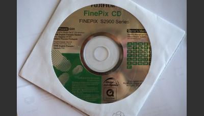Fujifilm Finepix 2900 Series Software and Owner's Manual Original CD