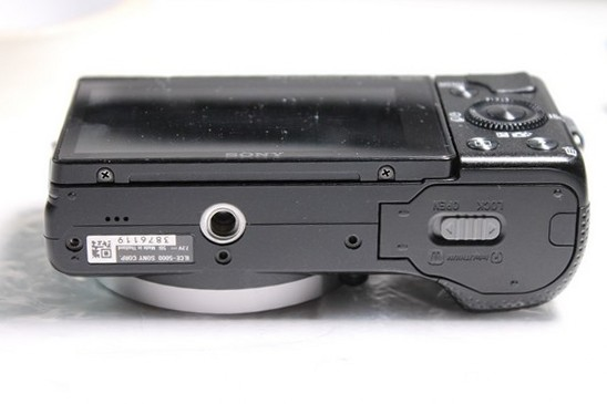 Infrared camera conversion of the Sony A5000
