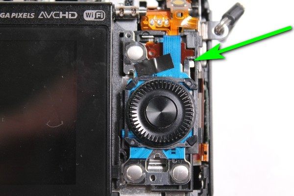 Sony A5000 disassembly inside