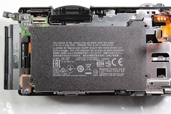Sony A5000 disassembly
