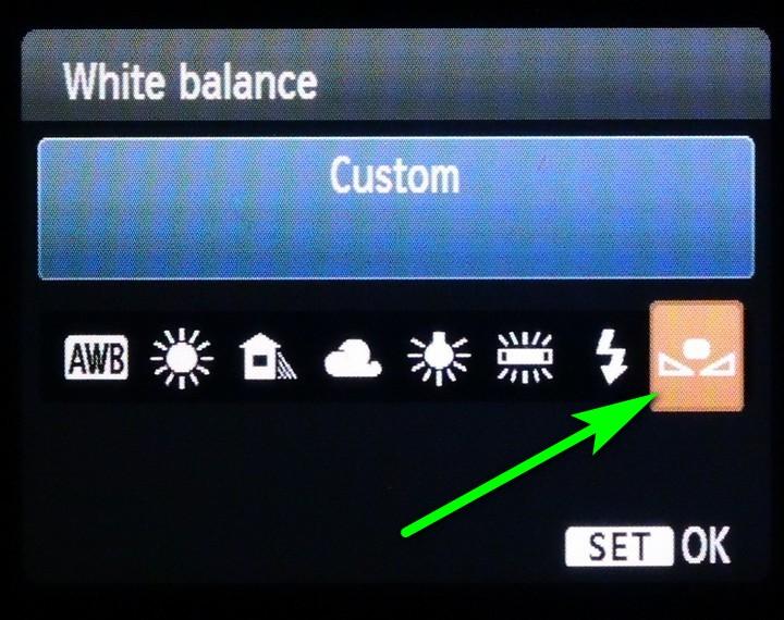 White balance.